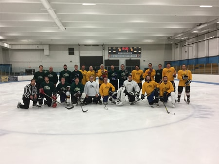 Stehly Memorial Hockey Game is a Tremendous Success